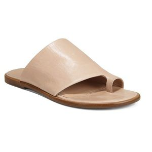 Vince Edris Toe Loop Leather Sandals